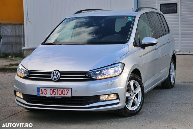 Volkswagen Touran 2017 Euro 6 FUll LED / DSG 2 /7 locuri/ Navigatie / Camera