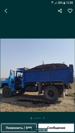 Продам перегной каровий перегнившы хорошый зил 130 калхозник 15000тг +
