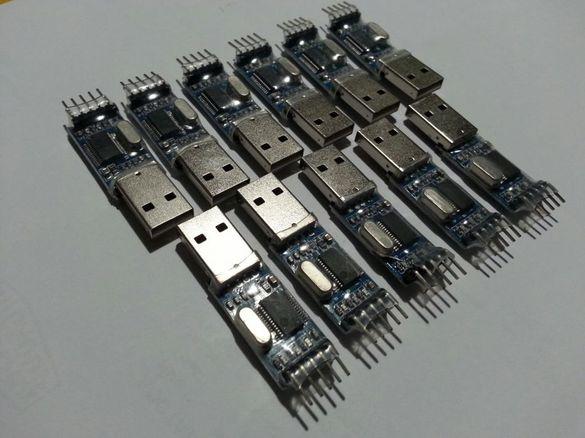 Преход Pl2303hx USB to Rs232 Ttl