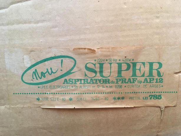 Aspirator praf SUPER AP.12 vintage