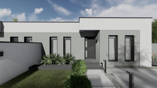 1/2 Duplex Modern pe Parter cu zid dublu