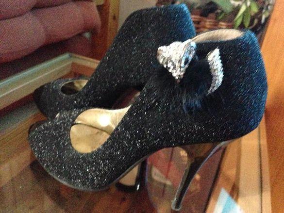 луксозни дамски обувки номер-38