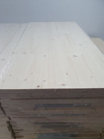 Panou lemn molid 800 x 400 x 18