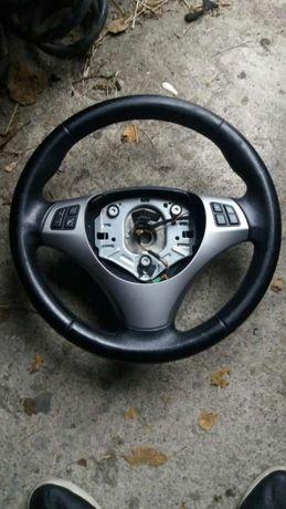 Volan comenzi bmw e 90 piele bună buna fara airbag