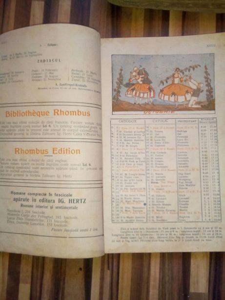 Calendarul Lumea Ilustrata 1923