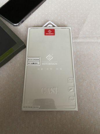 Прозрачен кейс KSTdesign за I Phone 11 PRO MAX