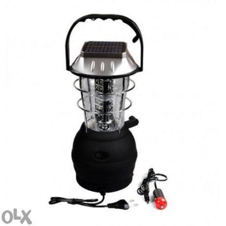 Соларна Многофункционална Led Лампа за къмпинг