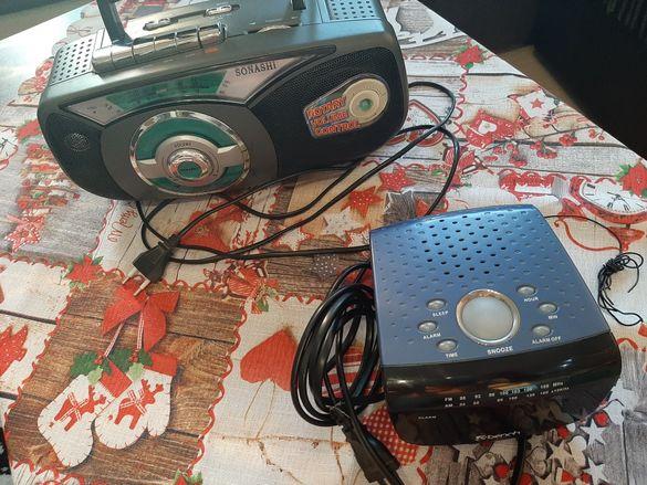 Радиокасетофон Sonashi и радиочасовник Bench