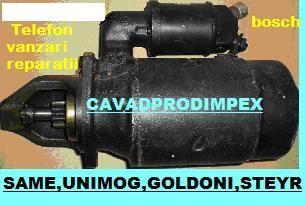 Electromotor tractor Same, Steyr, Goldoni, Fendt,Fahr-9dinti bendix
