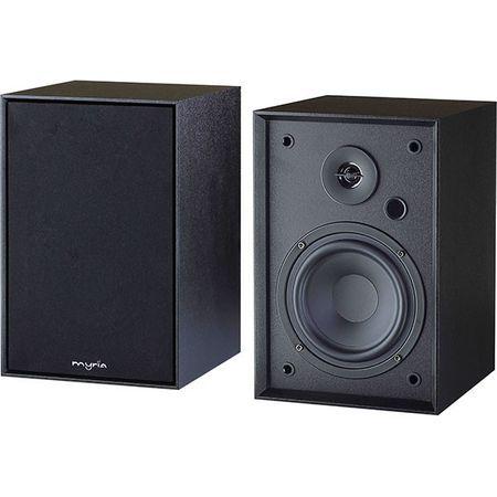 Sistem audio 2.0 MYRIA MY2608, Bluetooth, USB, negru
