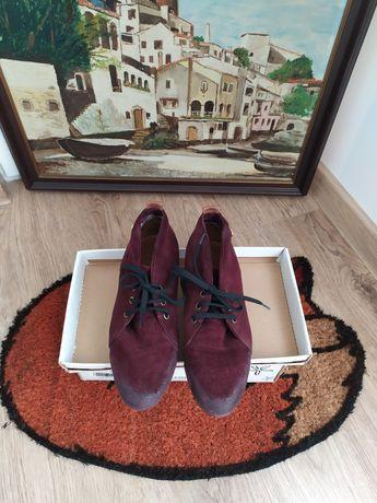 Обувки Bianki - цвят бордо