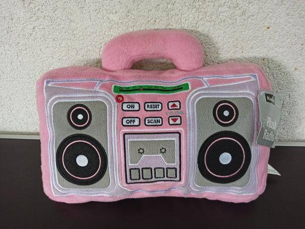 jucarie plus  perna radio copii fetite fete roz