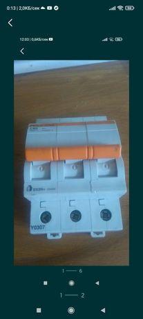 Продавам автоматичен прекъсвач 63 А нов български