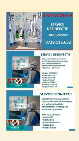 Servicii dezinfectie volumetrica