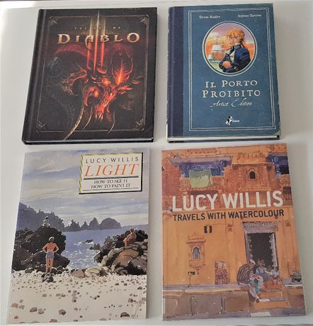 Продавам комикси и книги за рисуване