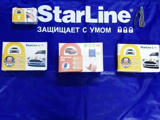 Установка сигнализаций от авторизованнного партнёра STARLINE