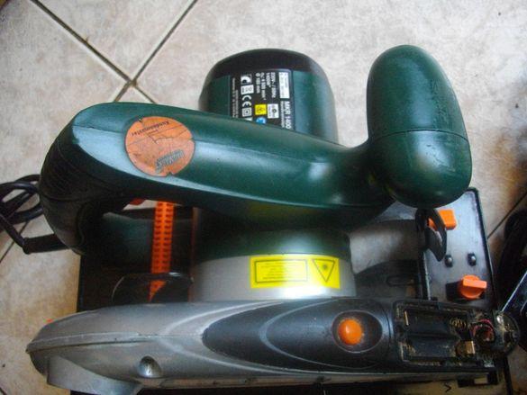 Лазерен 1400 Вата-Немски Ръчен Циркуляр-Профи-Meister Craft MKR1400