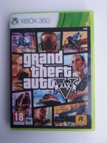 Оригинална Игра ГТА 5 / GTA V / GrandTheftAuto V / GTA 5 за XBOX 360