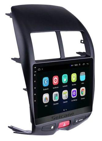Navigatie Android- 10 inch Mitsubishi ASX Peugeot 4008 Citroen C4-Noua