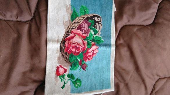 Гоблен рози