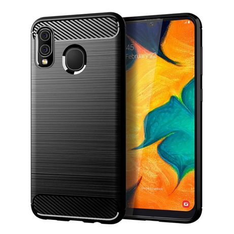 Луксозен калъф кейс Carbon за Samsung Galaxy A10 A20 A30 A40 A50 A70