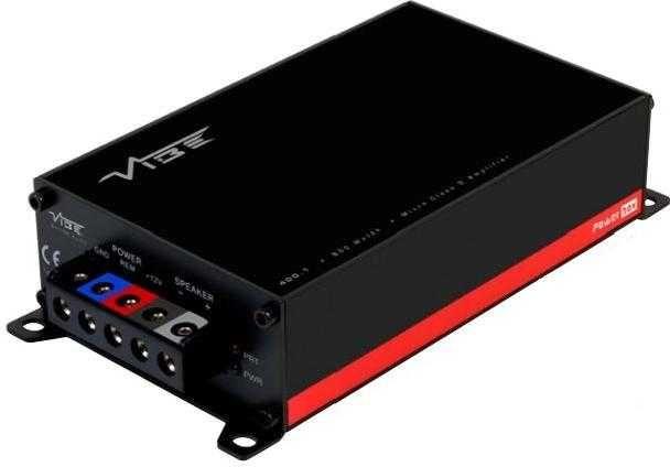 Усилитель 400 Вт Vibe Powerbox 400.1M-V7