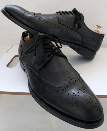 Pantofi derby brogue Ludwig Goertz 43 piele naturala