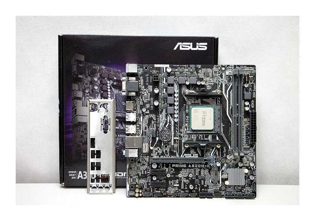 MB+CPU AM4 ASUS PRIME A320M-K 2x DDR4 В комплекте Ryzen 3 2200G Алматы