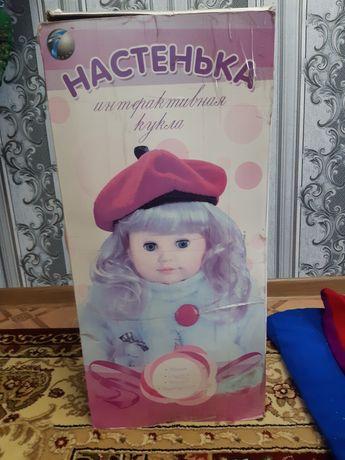 Продам. Интерактивная говорящая кукла. Уступлю.