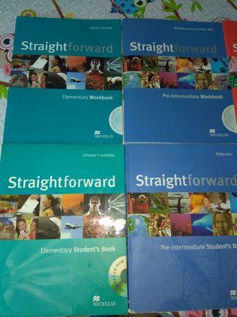 Учебник по английски език А1,А2,В1 Straightforward