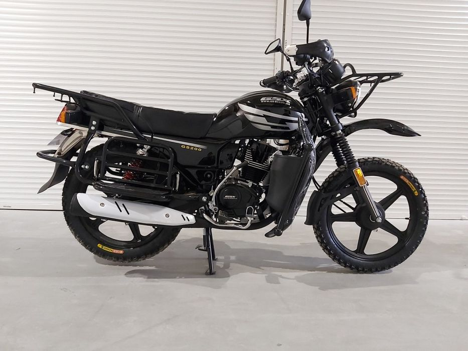 Мотоцикл Gsx-Suzuki 200куб Шиели - изображение 1