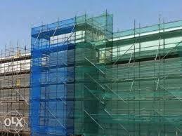 PLASA PROTECTIE Constructii In Lucru/Santiere,Ochiuri+Tiv, Alba/Verde