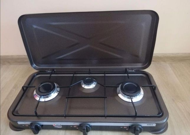 Газовая плита, газ плита 3 конфорочная Турция плитка