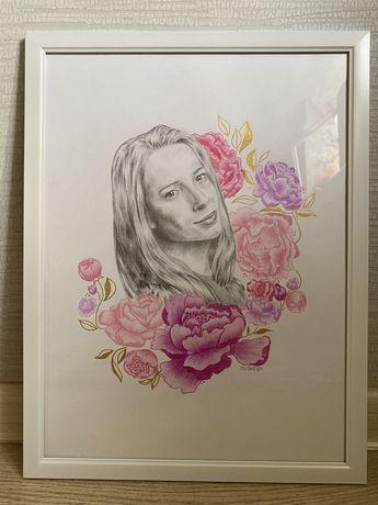 Портрет на заказ | художник | дизайнер | подарок на день рождения
