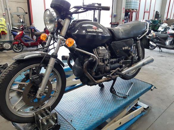 Мотоциклет Мото гуци В 35(Moto Guzzi V35 s 2)на части