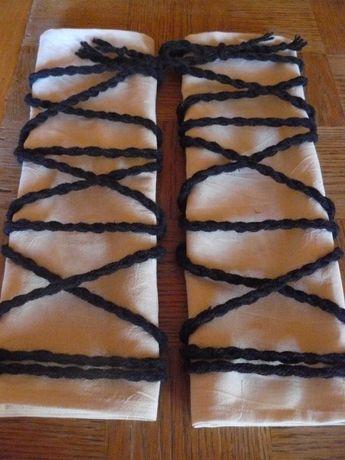 Навуща за носия от памучен плат