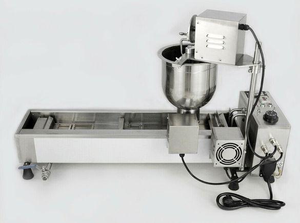 Машина за понички със 3 размера от Неръждаема стомана Нова