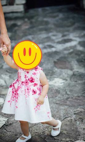 Официална детска рокля за кръщене/рожден ден 80 размер + подарък