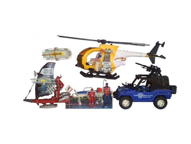 Set jucarii Rescue Team,patrula de coasta