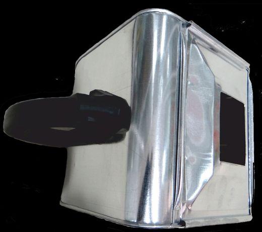 Машина за пръскана мазилка с метални пластини, неръждавейка