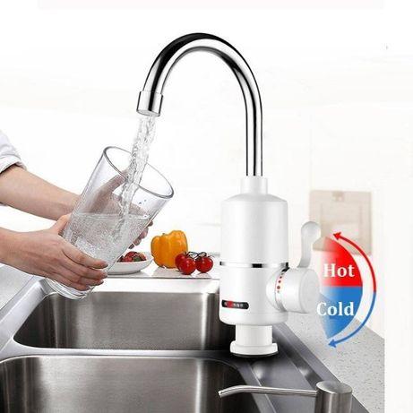 Смесител за стена-мощен нагревател 3000W за бързо стопляне на вода