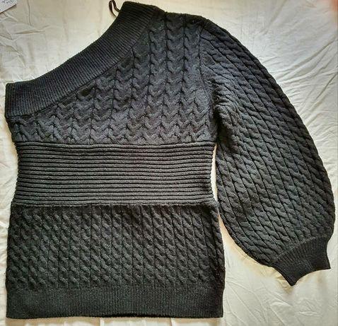 Pulover / bluza cu o maneca negru