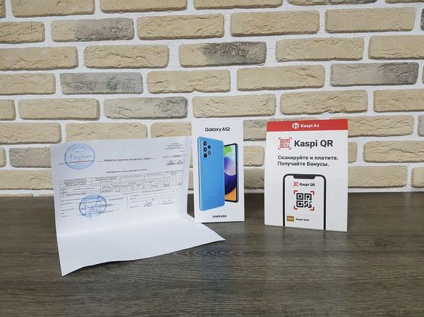 Новый Смартфон Samsung A52 8/256GB Рассрочка KASPI RED!Гарантия!