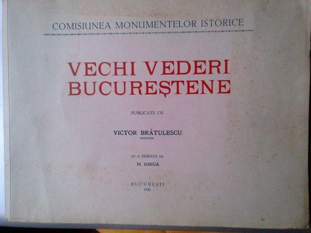 Vechi vederi Bucurestene (1868) editie 1935