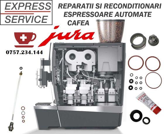 Reparatii aparate cafea Jura