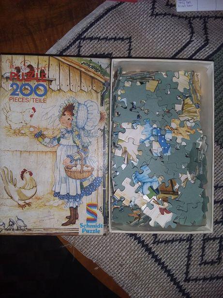 Joc puzzle pentru copii ,Miss Petticoat 200 piese