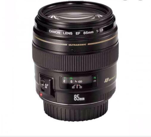 Canon 85 mm f 1.8