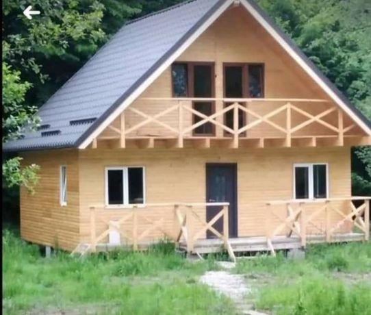 Construim case din din panou Sandwich, cabane din lemn, garaje