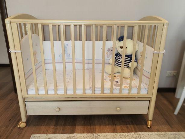 Идеальная детская кроватка Mibb