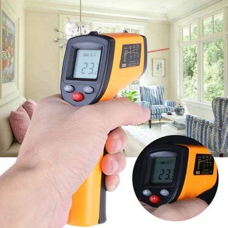 Безконтактен лазерен термометър